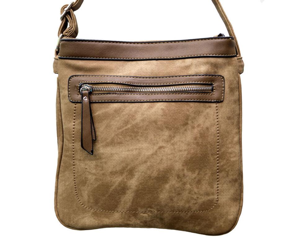 Магазин сумок Rozan Планшет женский коричневый 11047 - фото 1
