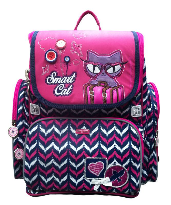 Магазин сумок Mike&Mar Рюкзак школьный 1074-ММ-126 + оригинальный рюкзак для обуви - фото 1