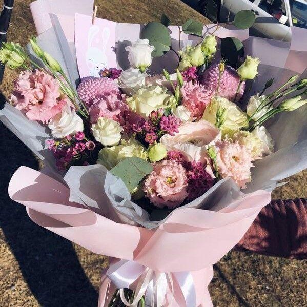 Магазин цветов Кошык кветак Букет классический №6 - фото 1