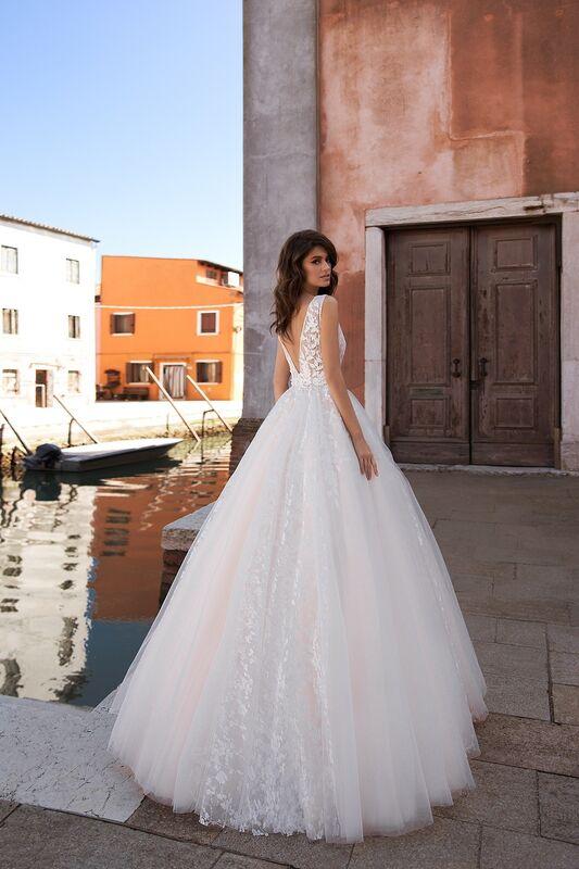 """Свадебное платье напрокат ALIZA свадебное платье  """"Quirinny"""" - фото 3"""