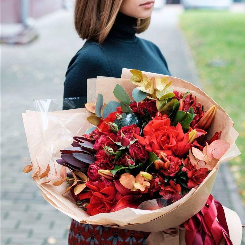 Магазин цветов Цветы на Киселева Букет «Космическая энергия» - фото 1