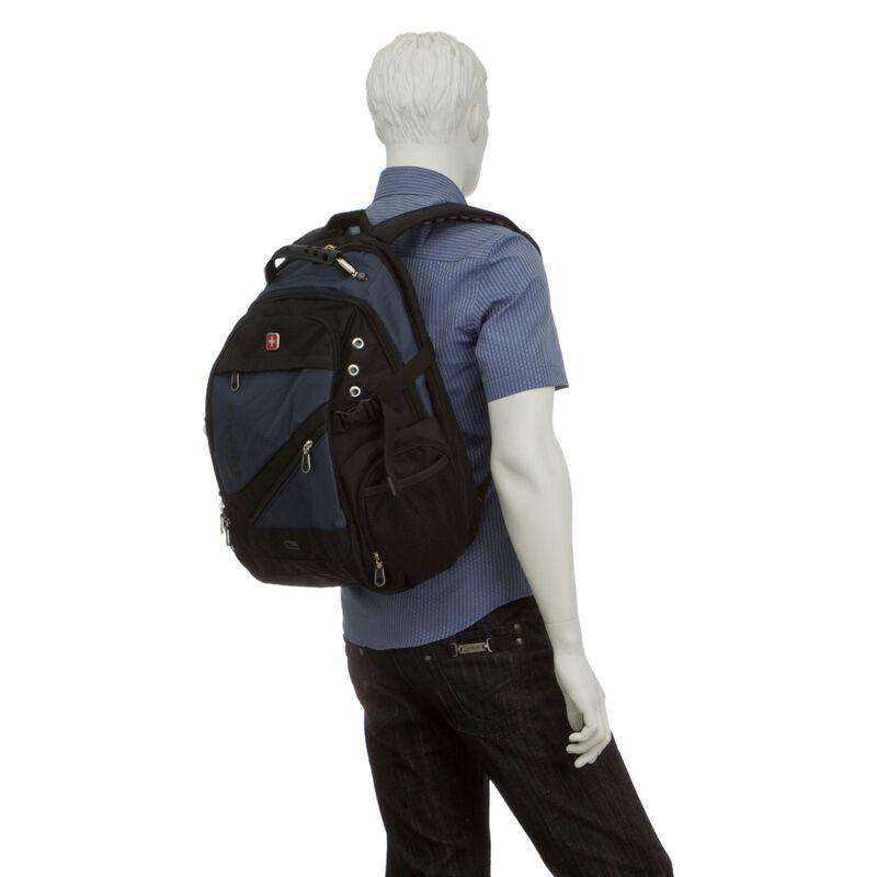 Магазин сумок SwissGear Рюкзак мужской синий 205-983017 - фото 5