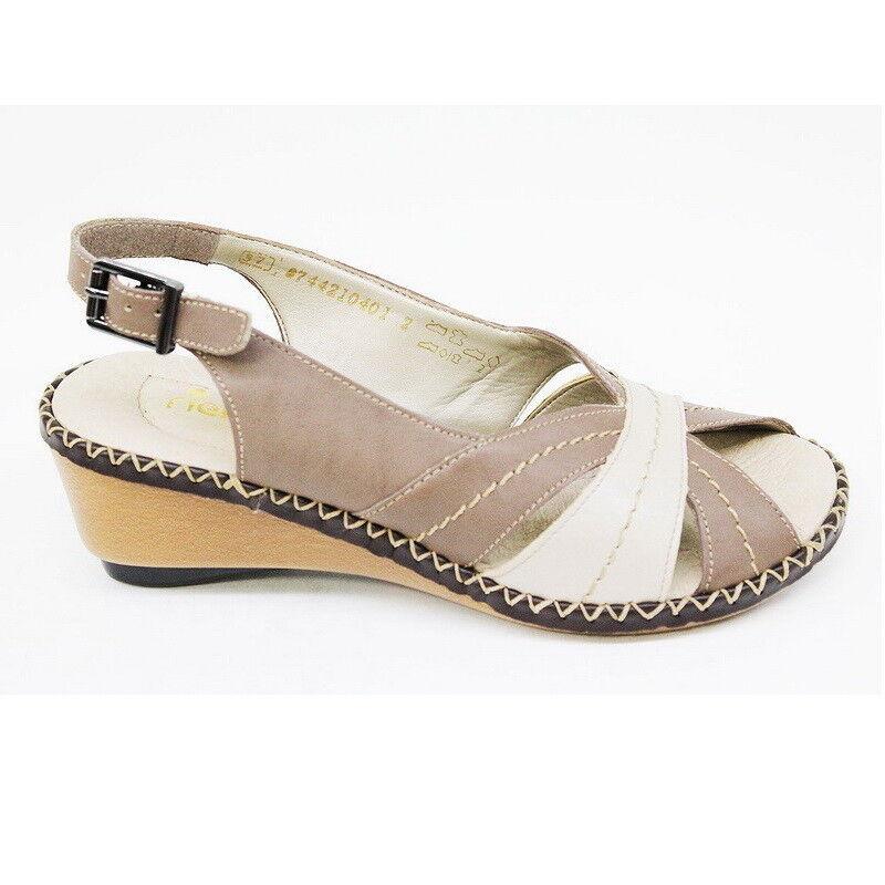 Обувь женская Rieker Босоножки открытые 66161-64 - фото 1