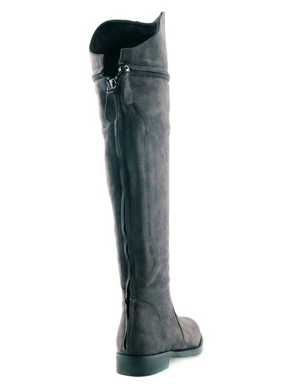 Обувь женская Laura Biagiotti Сапоги женские 5952 серые - фото 2