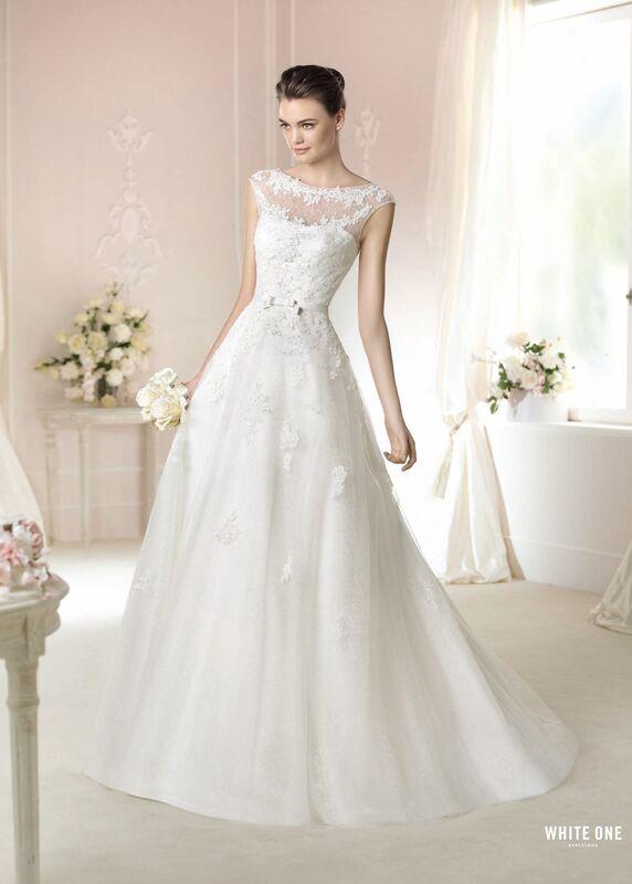 Свадебное платье напрокат White One (Pronovias) Платье свадебное «Dacey» - фото 1