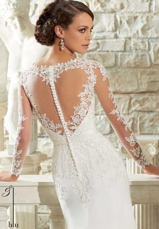 Свадебный салон Mori Lee Свадебное платье Blu 5306 - фото 4