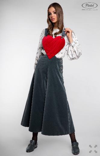 Брюки женские Pintel™ Комплект из блузы и комбинезона Lititso - фото 3