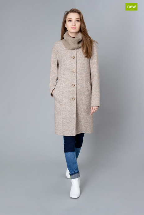 Верхняя одежда женская Elema Пальто женское демисезонное 1-9533-1 - фото 1