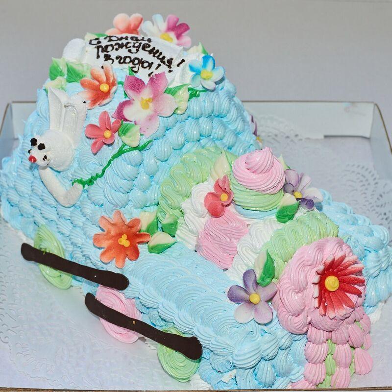 Торт Tortiki.by Праздничный торт №9 - фото 1