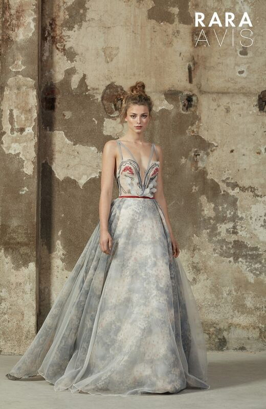 Свадебное платье напрокат Rara Avis Платье свадебное Floral Paradise  Maria - фото 2