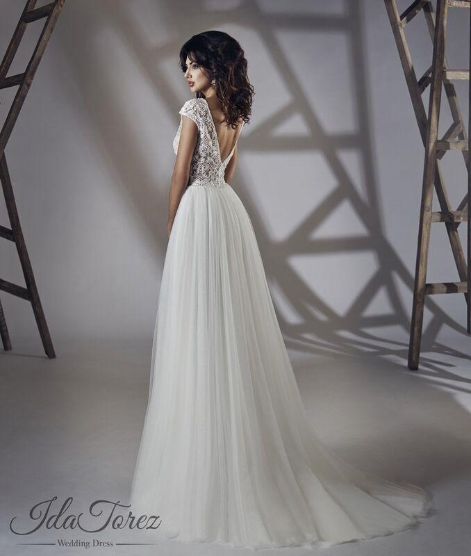 Свадебный салон Ida Torez Платье свадебное Shaila - фото 3