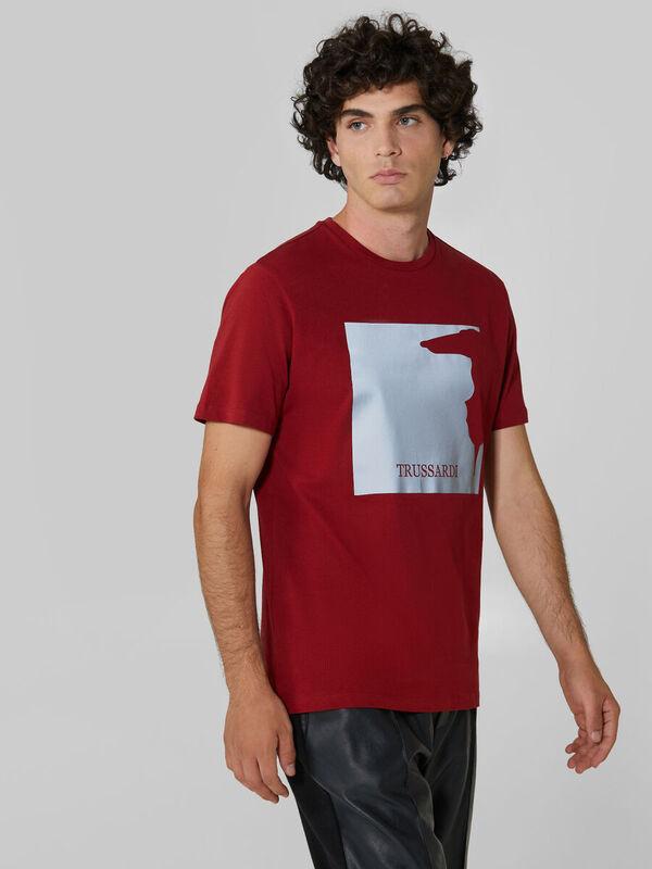 Кофта, рубашка, футболка мужская Trussardi Футболка мужская 52T00379-1T003076 - фото 1