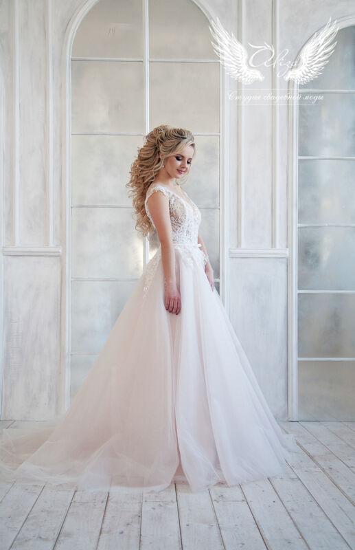 Свадебный салон ALIZA Платье свадебное «Lyuchiya» Soffito - фото 3