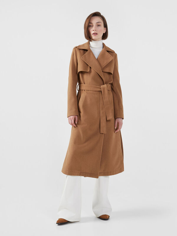 Верхняя одежда женская Trussardi Пальто женское 56S00402-1T003105 - фото 1