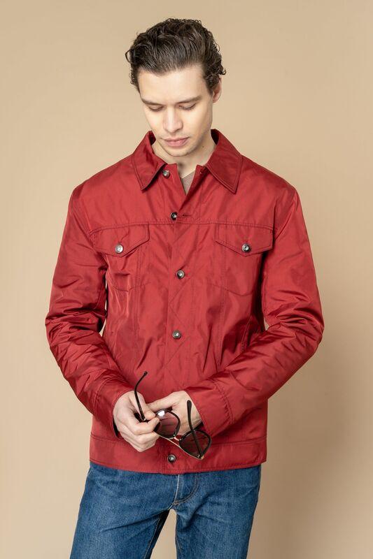 Верхняя одежда мужская Etelier Куртка мужская плащевая утепленная 4М-8530-1 - фото 6
