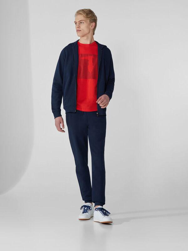 Кофта, рубашка, футболка мужская Trussardi Толстовка мужская 52F00104-1T003820 - фото 1
