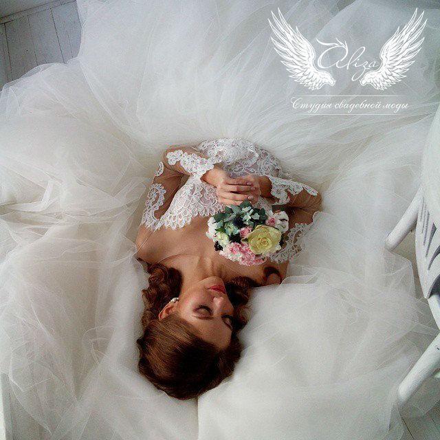 Свадебное платье напрокат ALIZA Платье свадебное «Amor 2» Soffito - фото 7