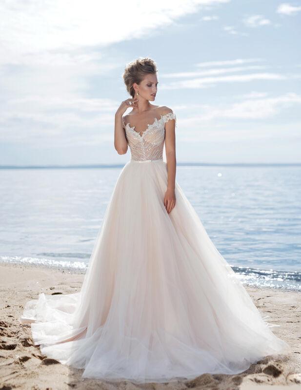 Свадебное платье напрокат Cosmobella Свадебное платье Kon-Tiki - фото 1