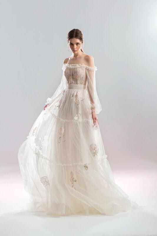 Свадебный салон Papilio Свадебное платье «Роза» - фото 1