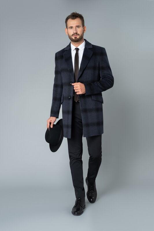Верхняя одежда мужская Etelier Пальто мужское демисезонное 1М-90161-1 - фото 1