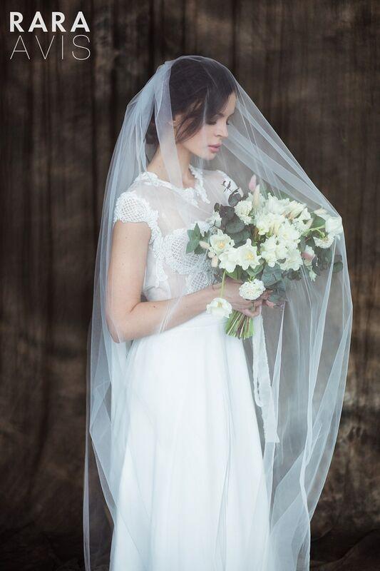 Свадебный аксессуар Rara Avis Фата №14 - фото 4
