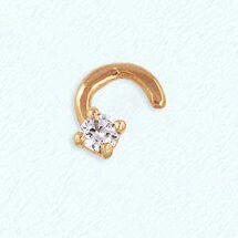 Ювелирный салон Топаз Пирсинг золотой т10207081 - фото 1