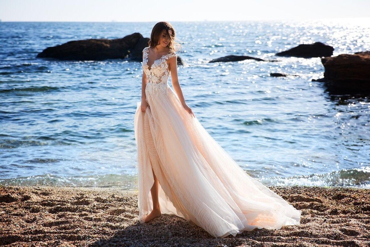 Свадебное платье напрокат Ida Torez Murex Pecten - фото 1