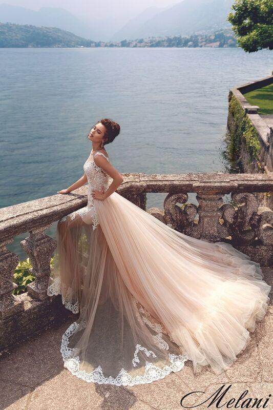 Свадебный салон Bonjour Galerie Свадебное платье Melani из коллекции Royal Luxury - фото 4