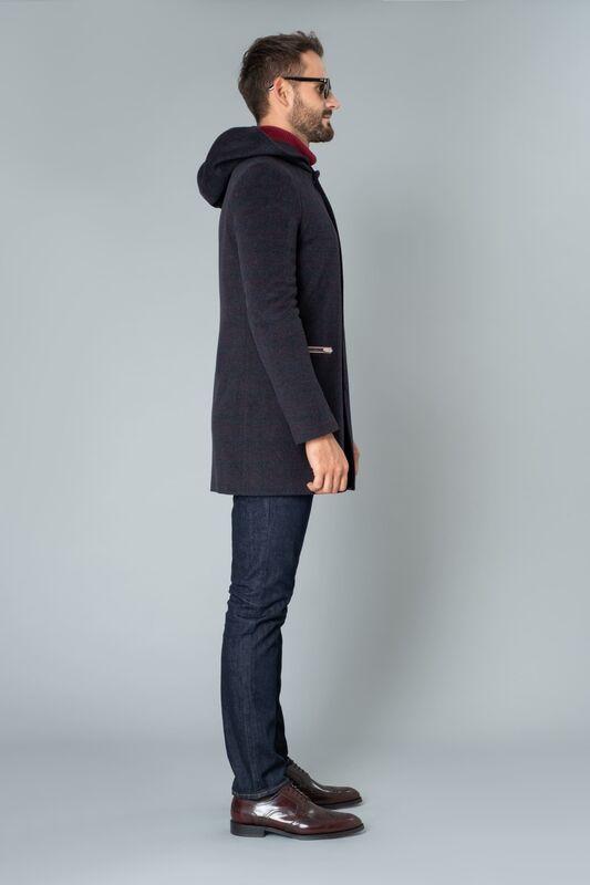 Верхняя одежда мужская Etelier Пальто мужское демисезонное 1М-8754-1 - фото 2