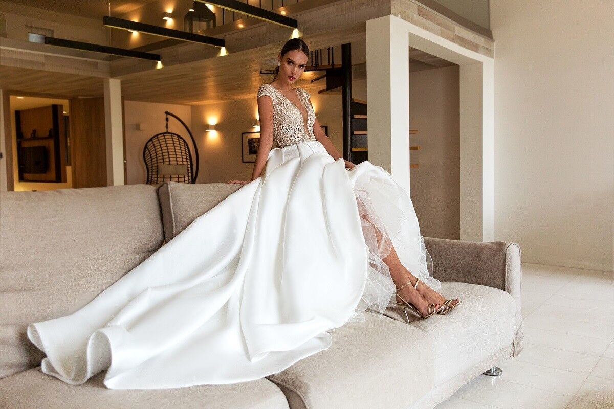 """Свадебный салон ALIZA свадебное платье """"Nemeziddye"""" - фото 6"""