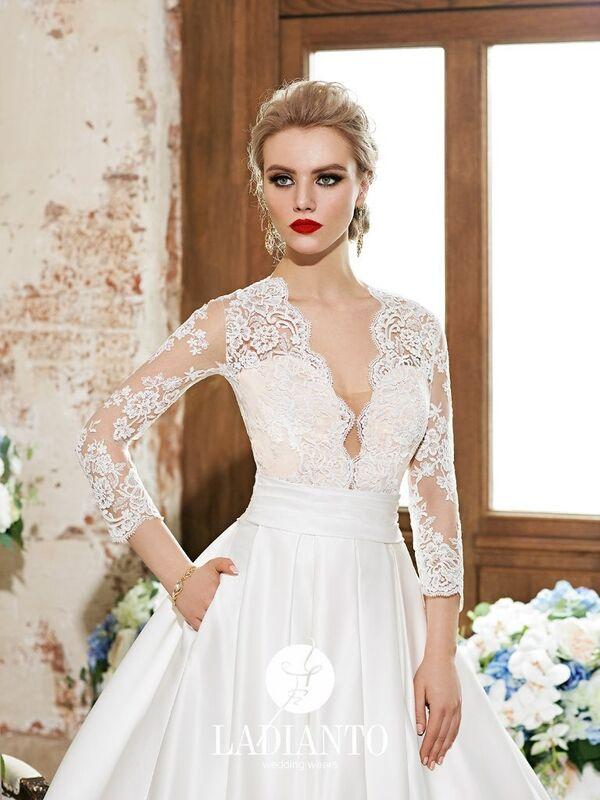 Свадебное платье напрокат Ladianto Платье свадебное Alberica D-7120 Abelarda - фото 3