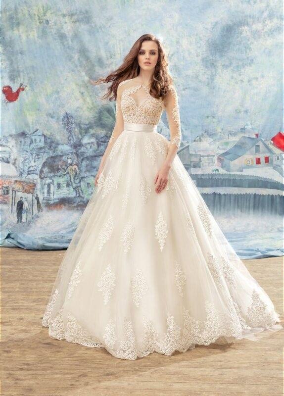 Свадебный салон Papilio Свадебное платье «Ара» 1707L, 1707-3 - фото 1