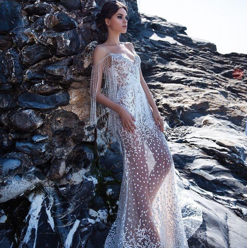 Свадебное платье напрокат Ange Etoiles Свадебное платье Ali Damore Opra - фото 1