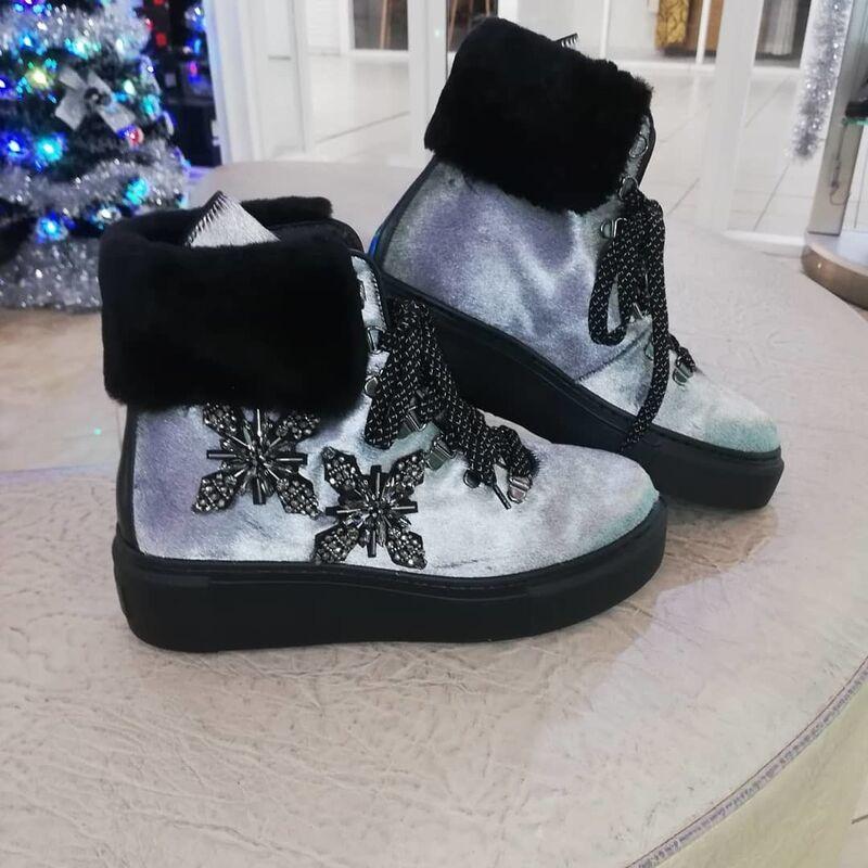 Обувь женская Laura Bellariva Ботинки женские 5006 - фото 4