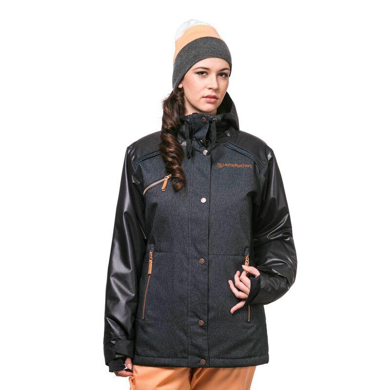 Спортивная одежда Horsefeathers Сноубордическая куртка Сharleen 1617 деним - фото 1
