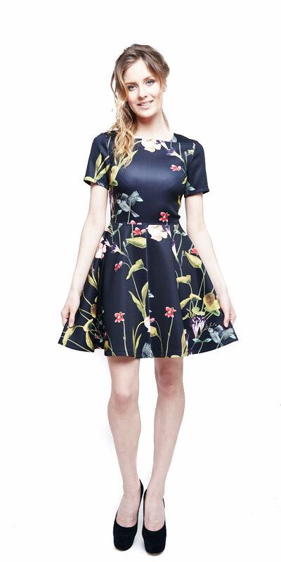 Вечернее платье Ted Baker Платье в цветы 320 - фото 1