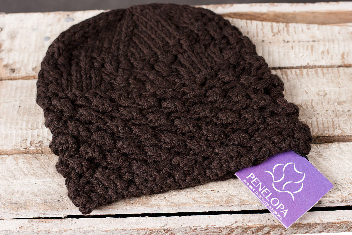 Головной убор PENELOPA Шапка «Шоколадное прикосновение» M103 - фото 3