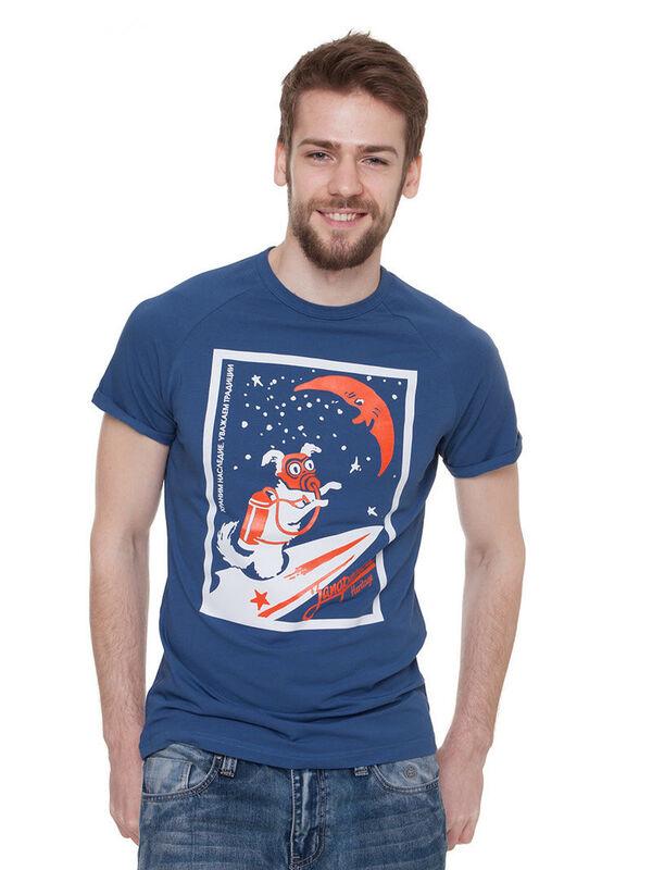 Кофта, рубашка, футболка мужская Запорожец Футболка «Ракета» SKU0124000 - фото 3