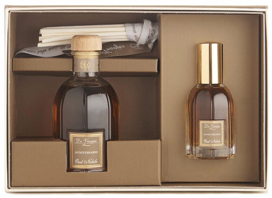 Подарок Dr. Vranjes Набор ароматов «100 Plus», Oud Nobile, 100 мл диффузор + 25 мл спрей, FRV13-B42 - фото 1