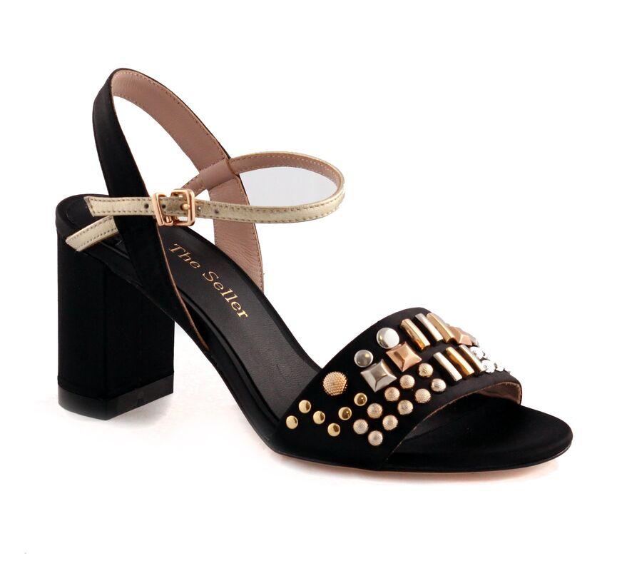 Обувь женская The Seller Босоножки женские S5410 черные - фото 1