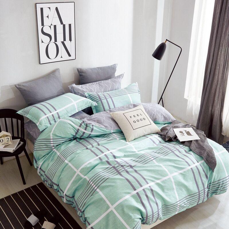 Подарок Tango Сатиновое постельное белье евро TPIG6-188 - фото 1