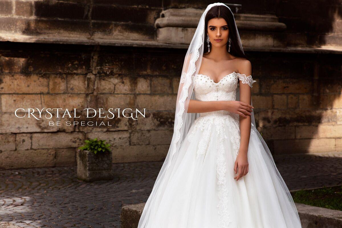 Свадебное платье напрокат Crystal Свадебное платье Verona - фото 1