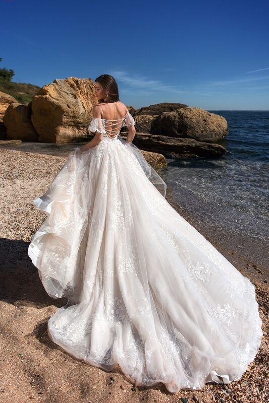 Свадебное платье напрокат Ida Torez Codakia Tigerina - фото 4