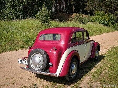 Прокат авто Москвич 401 1955 - фото 11