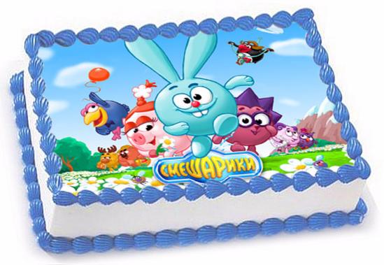 Торт Tortas Торт «Смешарики» №2 - фото 1