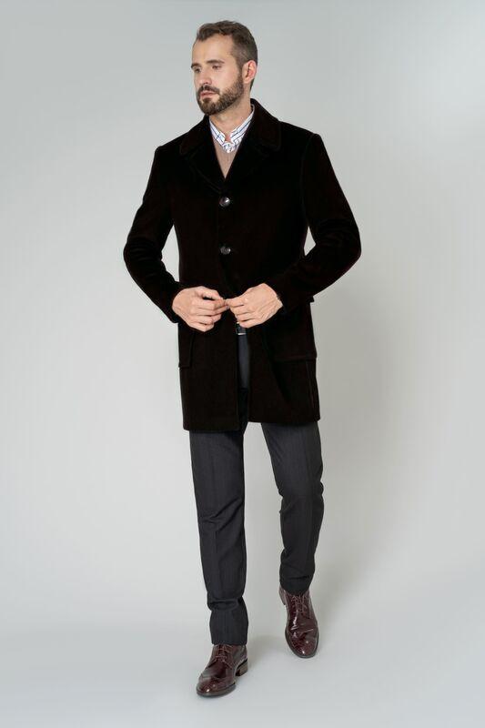 Верхняя одежда мужская Etelier Пальто мужское демисезонное 1М-9488-1 - фото 1