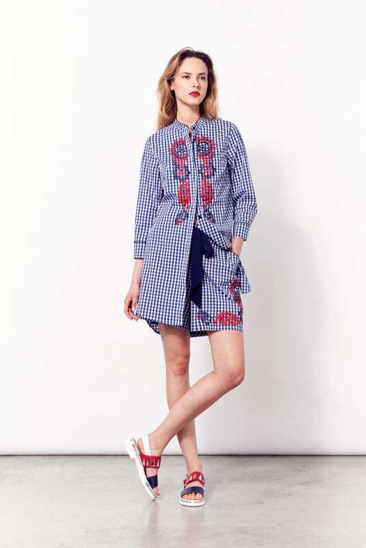 Кофта, блузка, футболка женская Sfizio Рубашка 4171 Prua - фото 1