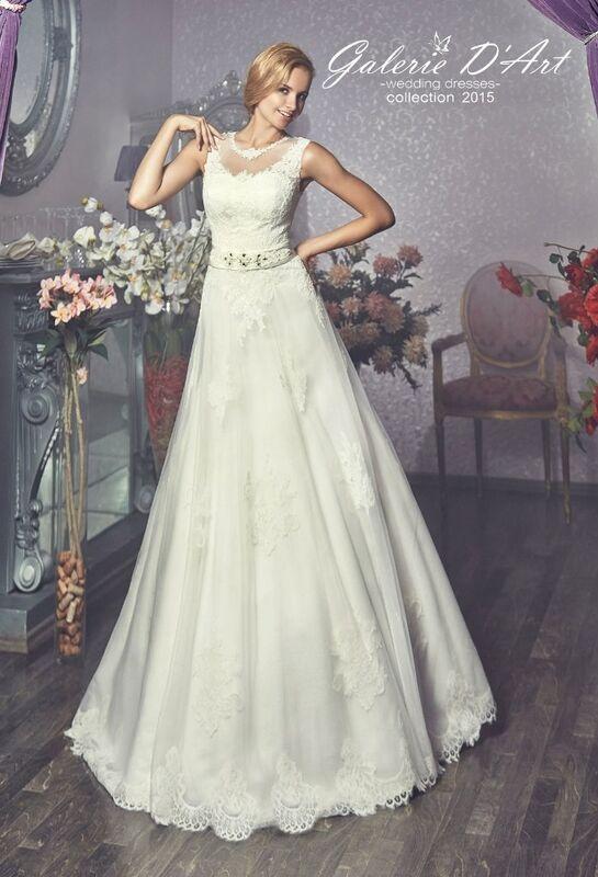 Свадебное платье напрокат Galerie d'Art Платье свадебное «Vual M» из коллекции BESTSELLERS - фото 1