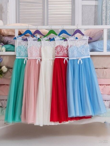 Вечернее платье Childrendress Нарядное детское платье 0009-16 - фото 2