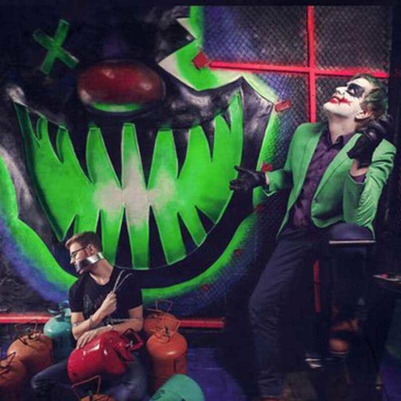 Квест PodZamkom Квест «Логово Джокера» на 4 чел. - фото 1